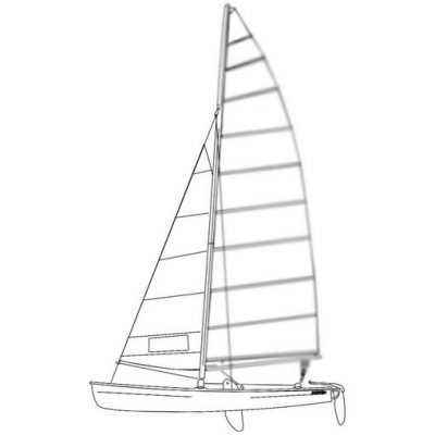 Murrays Hobie 18 Jib