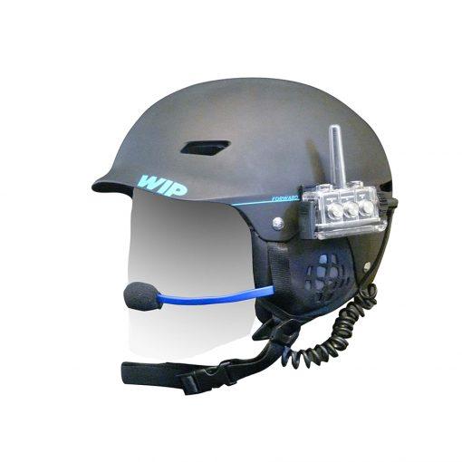 Forrward waterproof helmet communication system