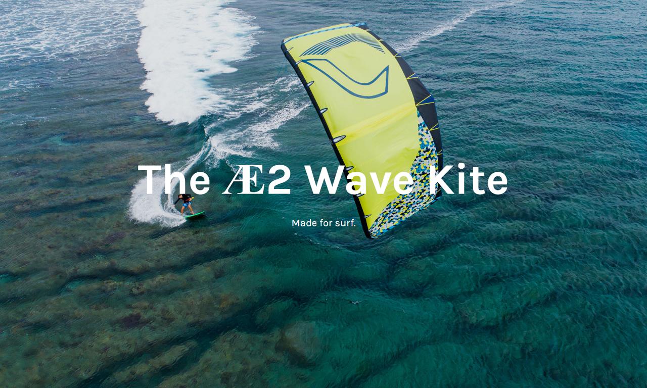 BWSurf AE2 Wave kite