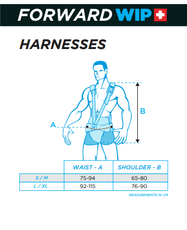 FWD WIP Harness sizing