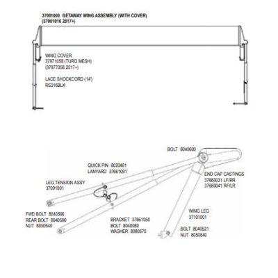HG Wing Parts