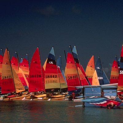 Hobiecat Legacy Boats