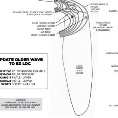 Wave Rudder Parts